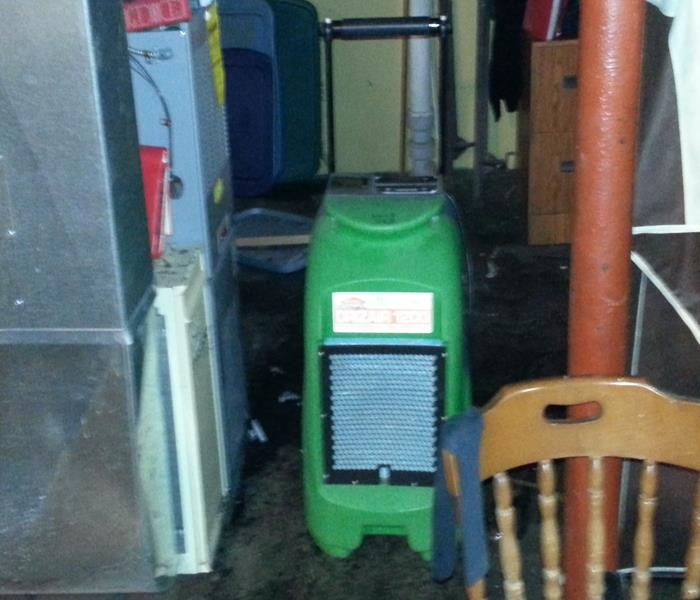 What does a dehumidifier do?