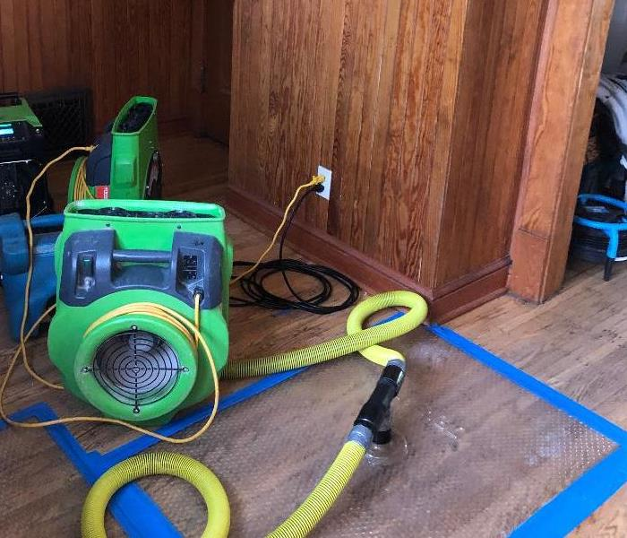 Hardwood Water Damage