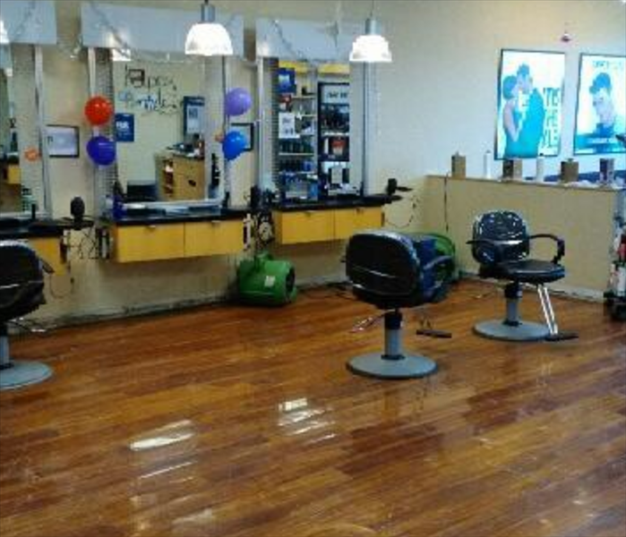 Salon Clean up