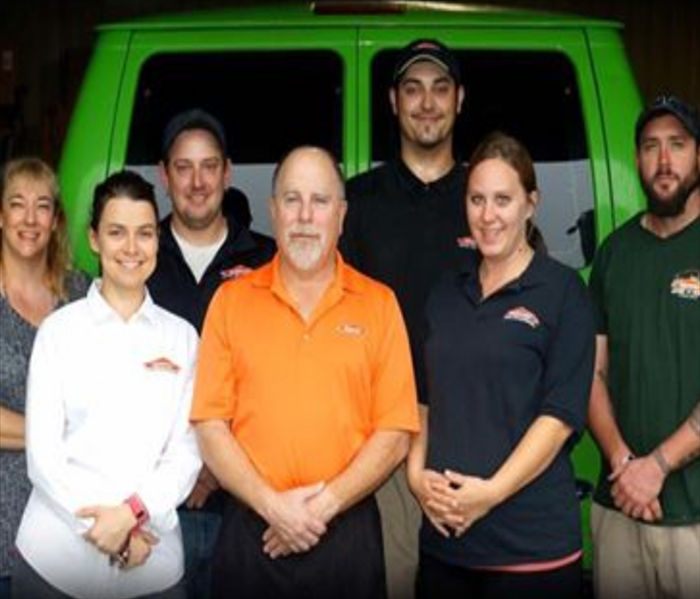General Meet the SERVPRO of ENC team